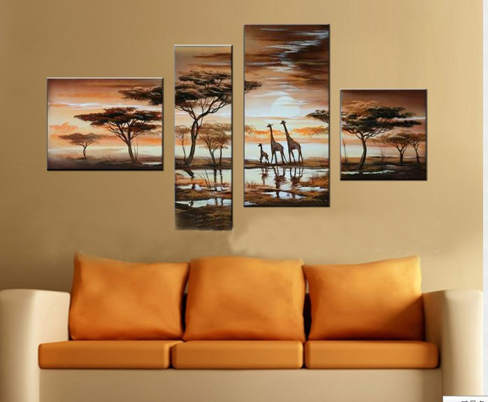 /500-603/hand-painted-landscape-oil-painting-with-stretched-frame-set-of-4.jpg