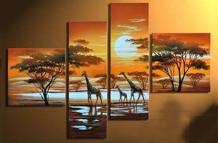 /502-608/hand-painted-landscape-oil-painting-with-stretched-frame-set-of-4.jpg