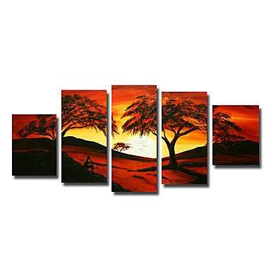 /515-624/hand-painted-tree-oil-painting-with-stretched-frame-set-of-5.jpg