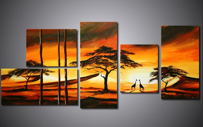 /516-626/hand-painted-landscape-oil-painting-with-stretched-frame-set-of-5-.jpg