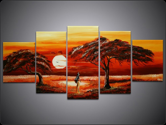 /517-628/hand-painted-landscape-oil-painting-with-stretched-frame-set-of-5.jpg