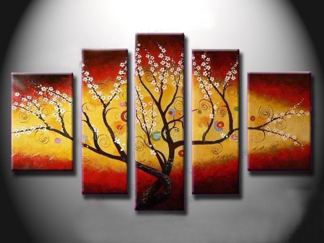 /528-641/hand-painted-flower-oil-painting-with-stretched-frame-set-of-5.jpg