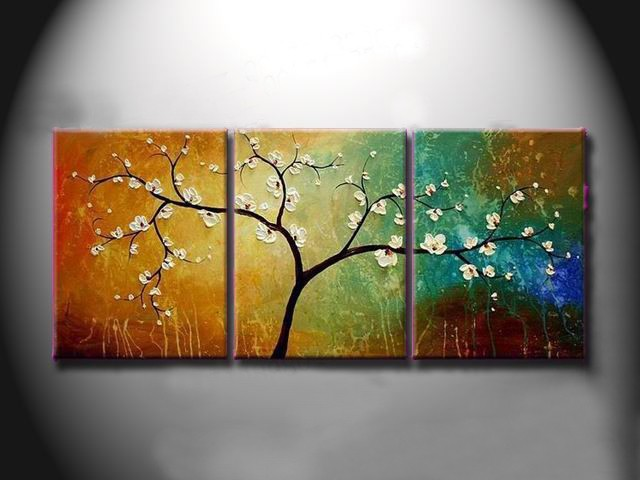 /535-649/hand-painted-tree-oil-painting-with-stretched-frame-set-of-3.jpg