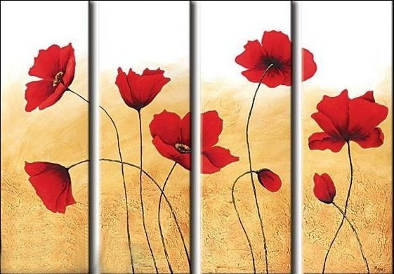/540-655/hand-painted-flower-oil-painting-with-stretched-frame-set-of-4.jpg