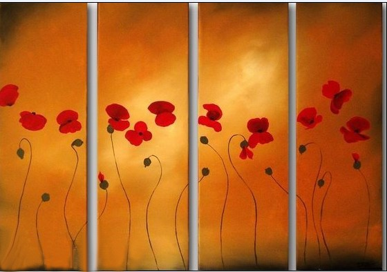 /541-656/hand-painted-flower-oil-painting-with-stretched-frame-set-of-4.jpg