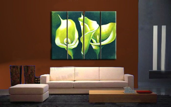 /542-657/hand-painted-flower-oil-painting-with-stretched-frame-set-of-4.jpg