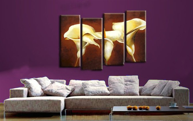 /544-659/hand-painted-flower-oil-painting-with-stretched-frame-set-of-4.jpg