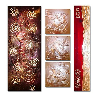 /550-670/hand-painted-abstract-oil-painting-with-stretched-frame-set-of-5.jpg