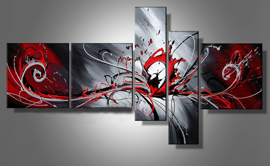 /551-672/hand-painted-abstract-oil-painting-with-stretched-frame-set-of-5.jpg