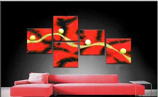 /574-707/hand-painted-abstract-oil-painting-with-stretched-frame-set-of-5.jpg