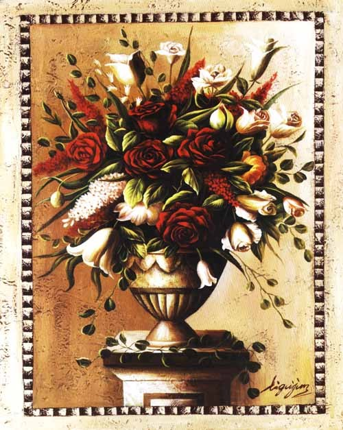 /719-888/printed-flower-canvas-art-with-stretched-frame.jpg