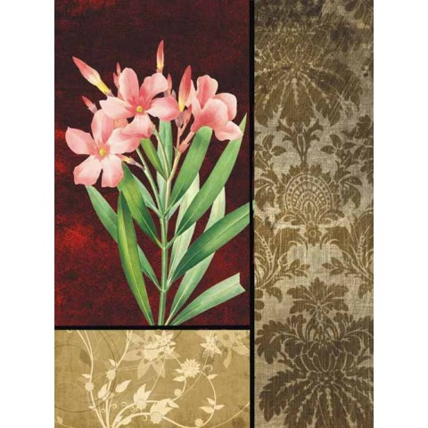 Flower Printed Canvas Art with Stretched Frame