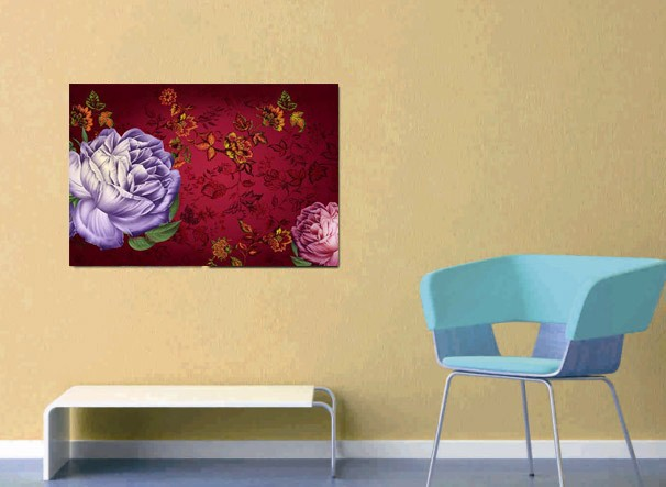 /872-1041/flower-printed-canvas-art-with-stretched-frame.jpg