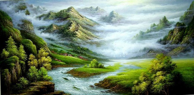 /9-9/hand-painted-landscape-oil-painting-with-stretched-frame-47-x-24.jpg