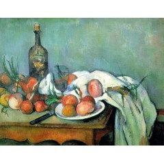 Printed Still Life Canvas Art with Stretched Frame