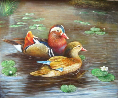/949-1118/printed-ducks-canvas-art-with-stretched-frame.jpg